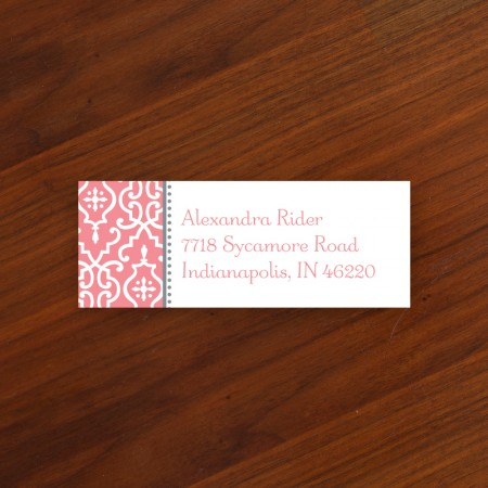 Wrought Iron Address Label