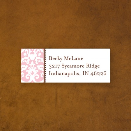 Madison Address Label