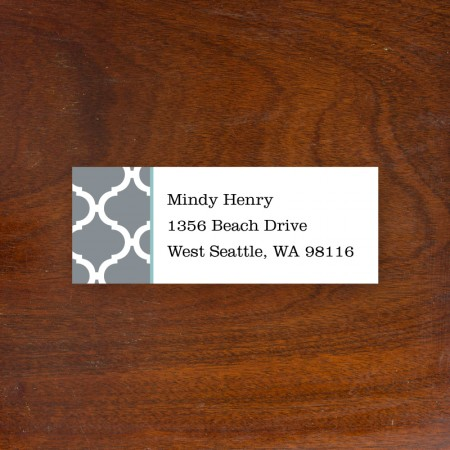 Ann Tile Address Label