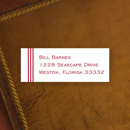 Grand Border Address Label