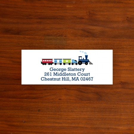 Train Address Label