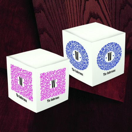 Merrimade Self Stick Memo Cubes - Design 20