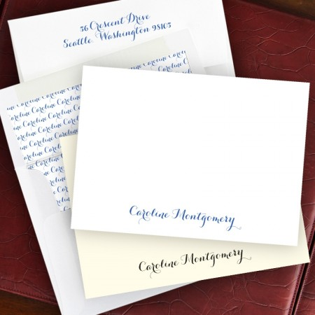 Arcadian Correspondence Cards & Lined Envelopes