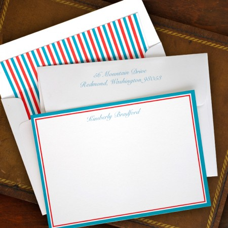 By-The-Sea Correspondence Cards