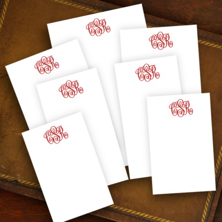 Clever Memo Set - with Monogram - Refill