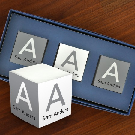 Decorative Mini Self Stick Memo Cubes - Format 1