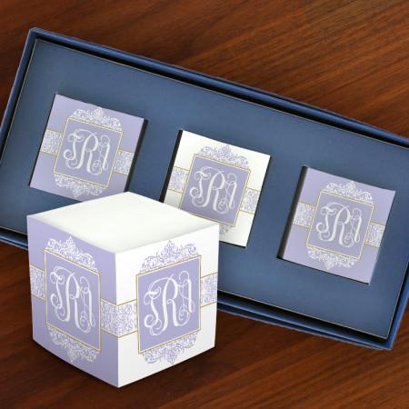 Decorative Mini Self Stick Memo Cubes - Format 3