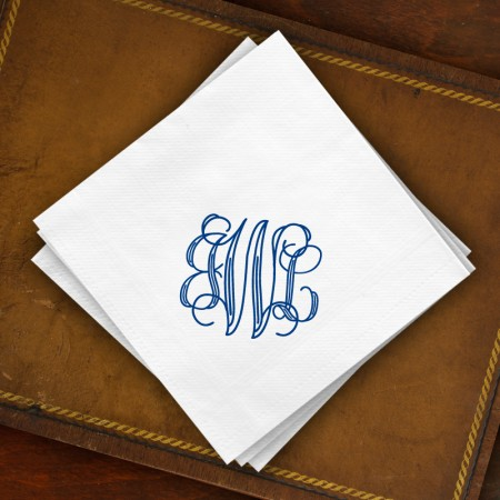 DYO Buffet Napkins - with Monogram