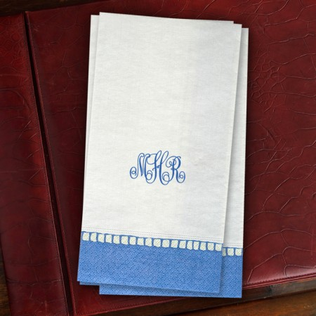 Elegant Caspari® Guest Towels - with Monogram