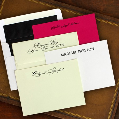 Elegant Correspondence Cards