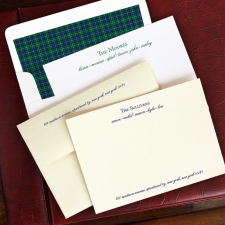 Family Correspondence Cards