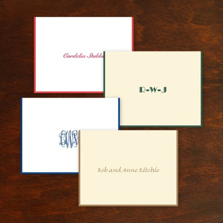Hand Bordered Gift Enclosures