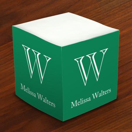 Merrimade Self Stick Memo Cubes - Chiseled