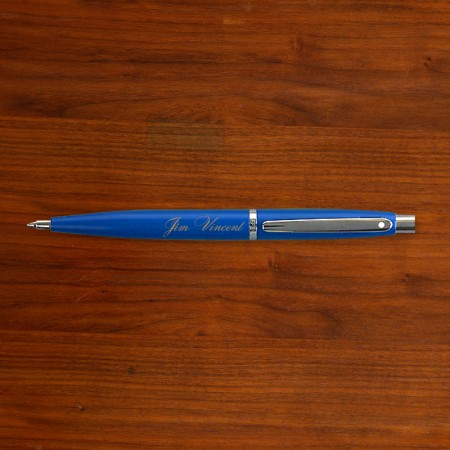 Blue Sheaffer® Pen - Personalized