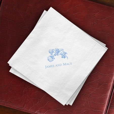Prentiss Dinner Napkins - Floral Design