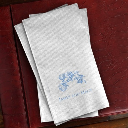 Prentiss Guest Towels - Floral Design