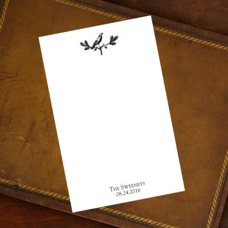 Prentiss Memo Set - Bird Design Refill