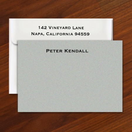 Steel Gray Cards