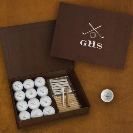 Golf Balls with Display Box - White