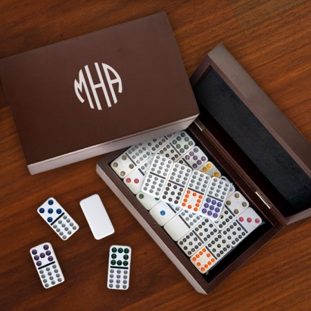 Personalized Domino Game Set
