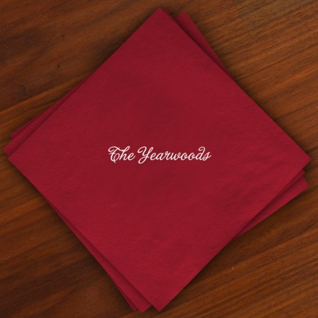 Caspari® Cranberry Dinner Napkins