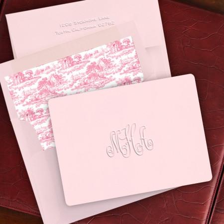 Pink Lemonade Fold Note