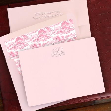 Pink Lemonade Correspondence Cards