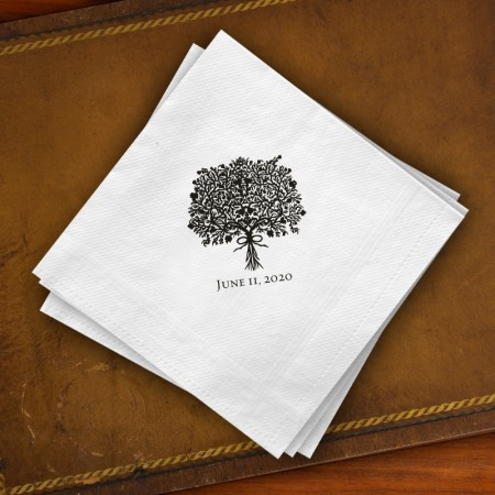 Prentiss Guest Towels - Bouquet Design