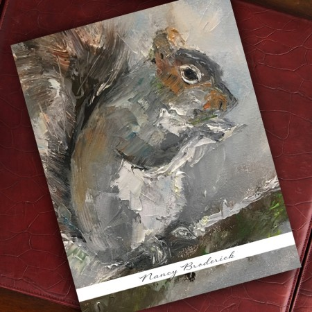 Woodland Squirrel Note Cards - Beth Clary Schwier