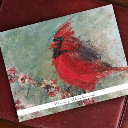 Woodland Cardinal Note Cards - Beth Clary Schwier