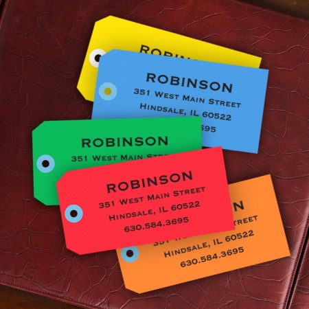 Heavy Weight Paper Bag Tags