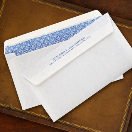 Check Self-Seals Envelopes