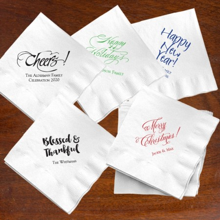 Celebration Beverage Napkins