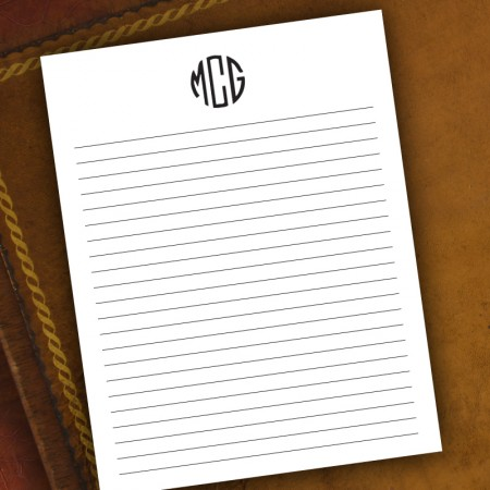Memo Pads - with Monogram