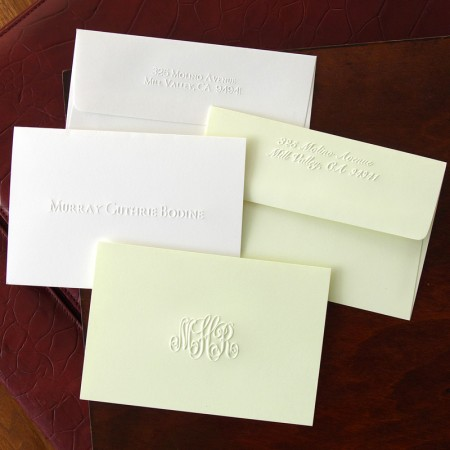 Embossed Notes