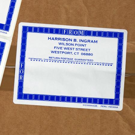 No Lick Shipping Labels