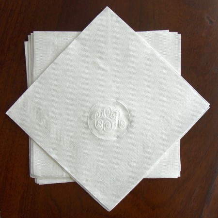 Embossed Luncheon Napkins