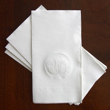 Embossed Guest Towel