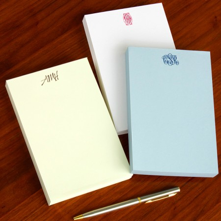 Designer Desk Pads - with Monogram