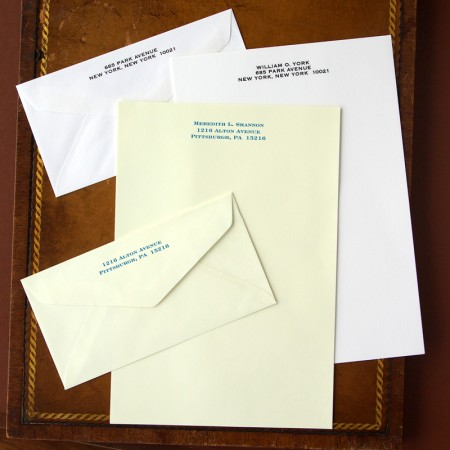 Merrimade Formal Stationery - Half Sheets