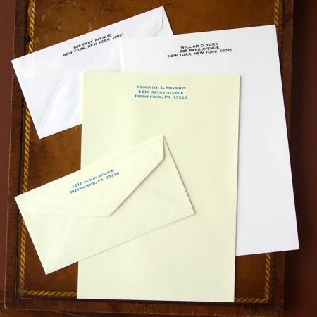 Merrimade Formal Stationery - Half Sheets