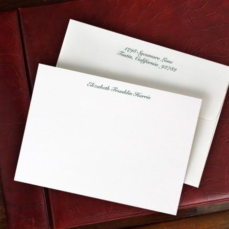 Design Correspondence Cards - One Line