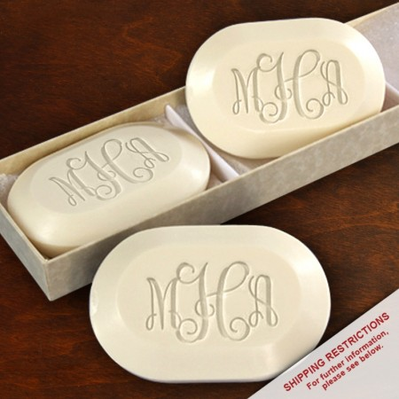Spa Trio Soap - Monogram