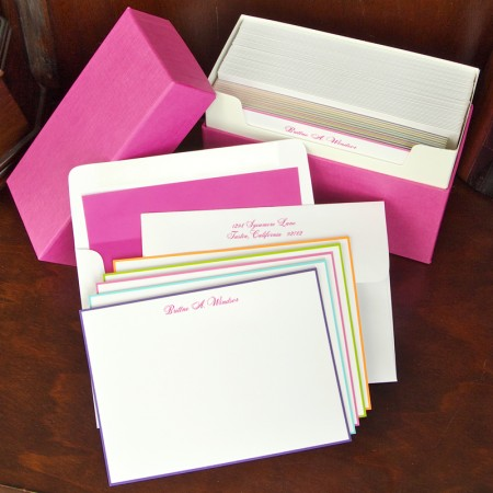 Colorful Hand Bordered Gift Set