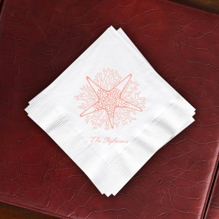 Starfish Buffet Napkins