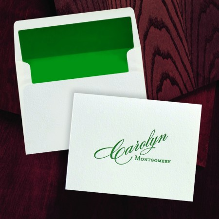 100% Cotton Notes - with Name