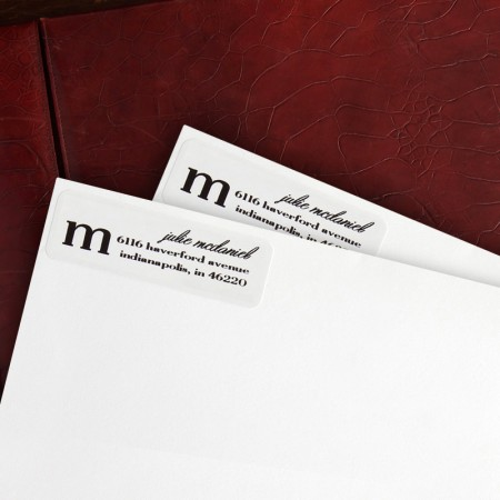 Stylish Address Labels - Format 1