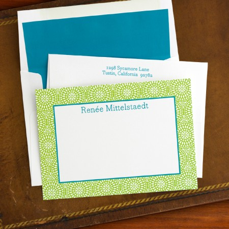 Bursts Correspondence Cards