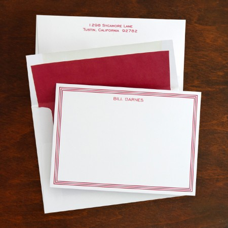 Grand Border Correspondence Cards