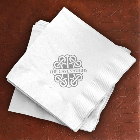 Nautical Knot Buffet Napkins